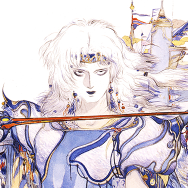 Final Fantasy Iv Amano Art
