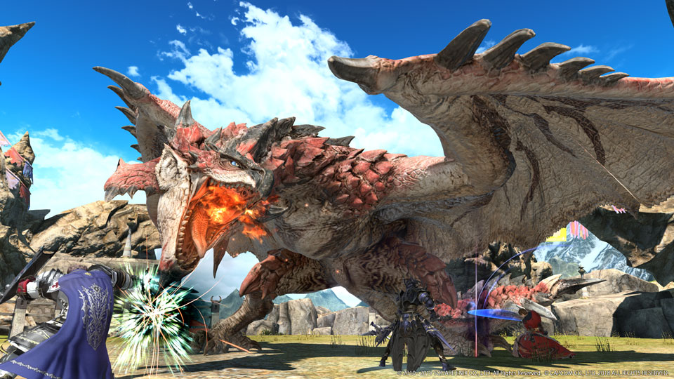 The Great Hunt Begins August 7 with FINAL FANTASY XIV Online and