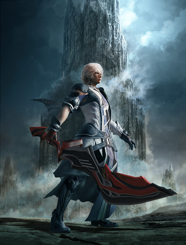 Pt  2] MOBIUS FINAL FANTASY Warrior of Despair Interviews