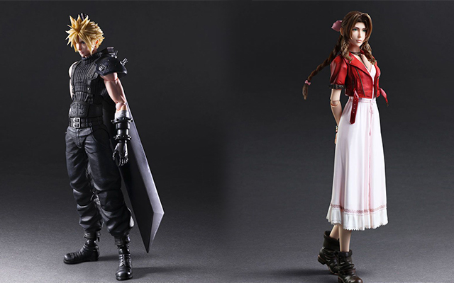 Pre Order Final Fantasy Vii Remake Play Arts Kai Action Figures News Final Fantasy Portal Site Square Enix